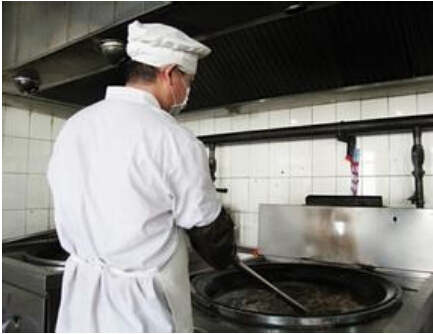 北京市第一看守所食堂